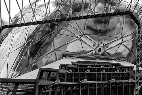atomium bw zw stairs trappen
