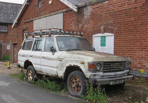 1985 Toyota Land Cruiser 4.0 Diesel | by Spottedlaurel
