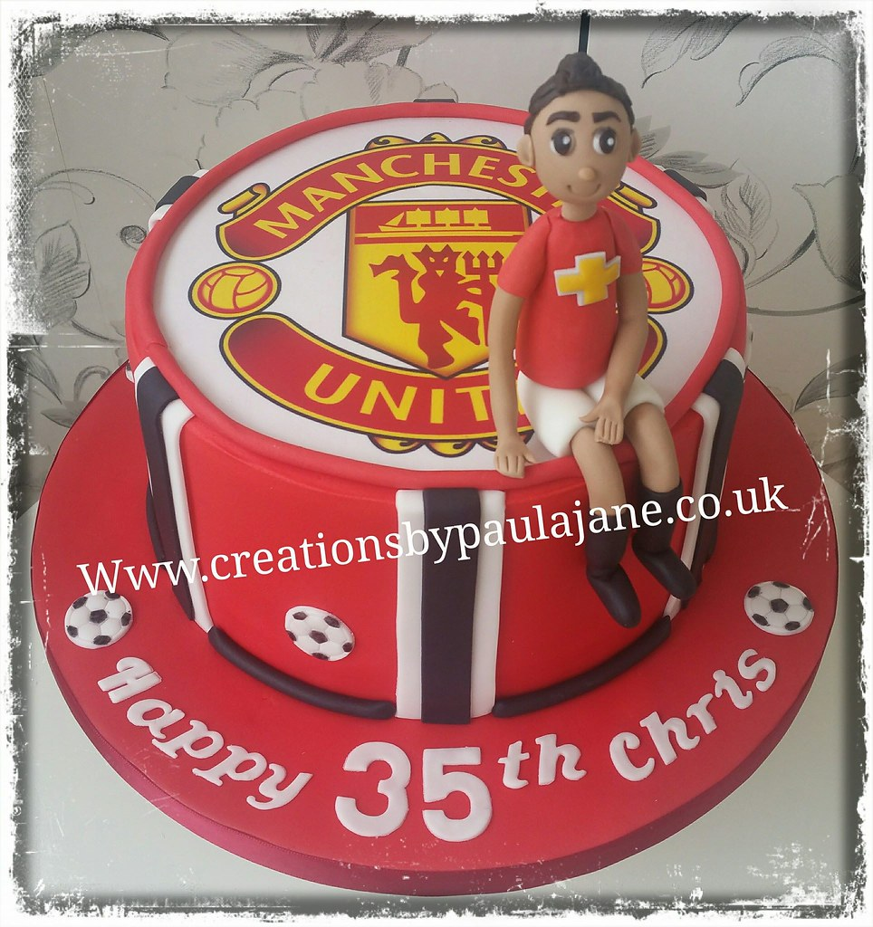 Manchester United Cake Paula Town Flickr