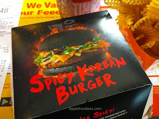 mcdonalds-spicy-korean-burger-box | by AppleFoodees