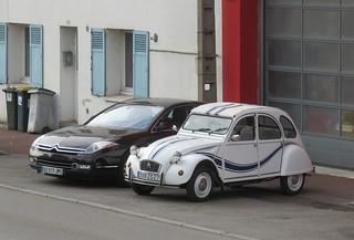 Citroen 2CV6 'France 3' and C6 | by Spottedlaurel