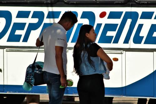- Iztaccihuatl seen from the Puebla-Cuautla highway