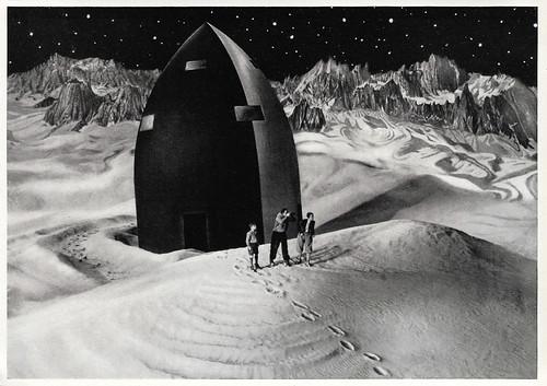 Willy Fritsch, Gerda Maurus and Gustl Stark-Gstettenbauer in Frau im Mond (1929)