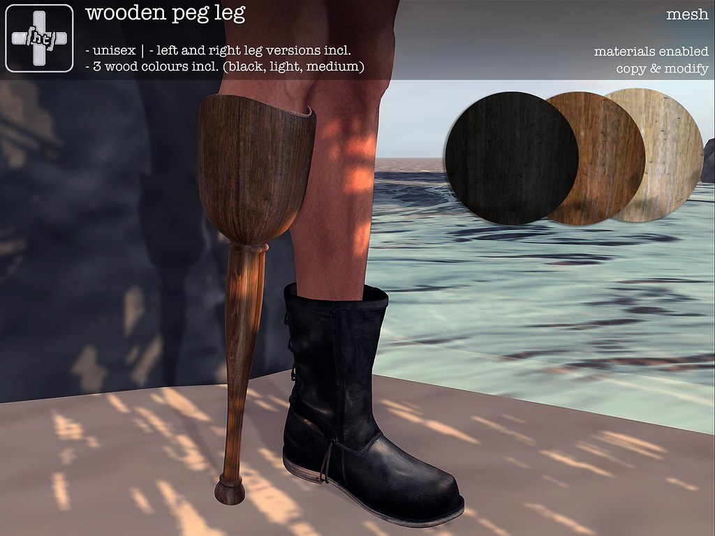 Ht Wooden Peg Leg For Genre Sea Faring 07152017 0 Flickr