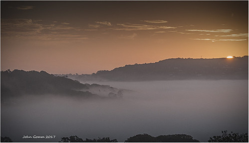 hills clouds sky mist dorset vale 2012 sunrise marshwood lymeregis nikon beacheslandscapes