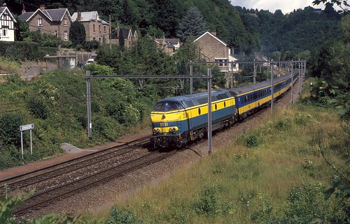 1/2 NMBS 5531 ICR Chanxhe, 08-1993 | by dloc567