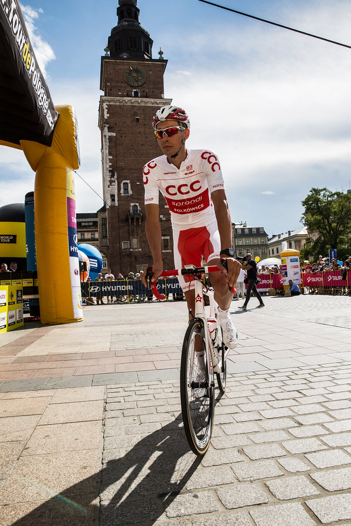 Polish national road race Champion Adrian Kurek   stage 1 si