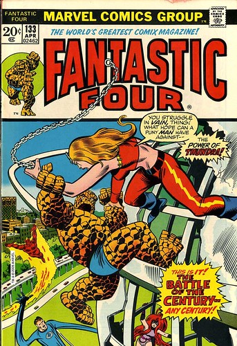 Fantastic Four 133 cover color Buscema Sinnott | by giantsizegeek