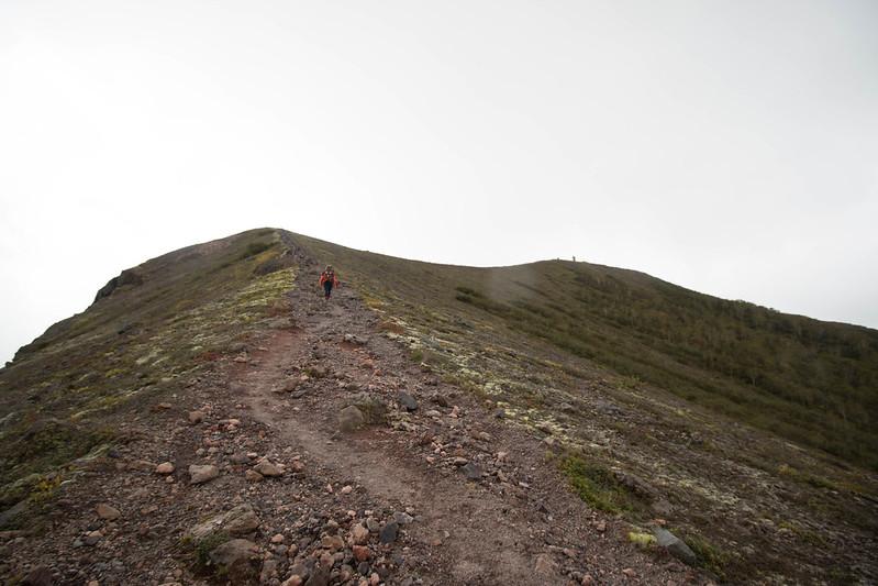 樽前山 登山