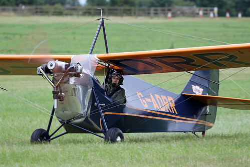 Aeronca C3 G-ADRR | by MUSTANG_P51