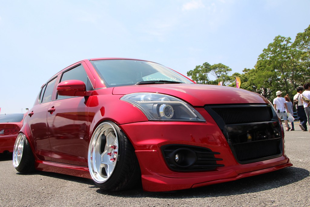 suzuki swift sport stance nation japan huis ten bosch 20 toyota altezza stance suzuki swift black stance #10