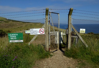 Range gates, Lulworth Cove
