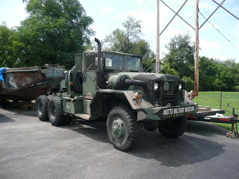 M52A2 Truck 1