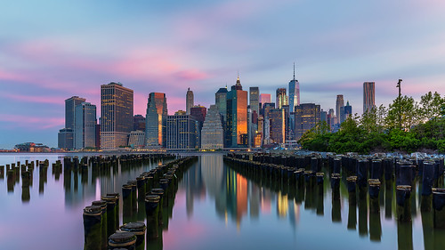 Brooklyn Bridge Park at sunrise | by lukas schlagenhauf