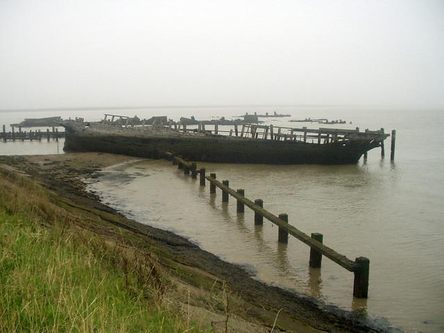 The wreck of the Danish Schooner Hans Egede