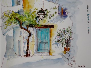 Sketchcrawl 56th Les Matelles 2 | by Françoise Mani