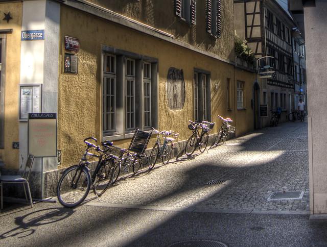 bikes in the Sun, Winterthur, Switzerland