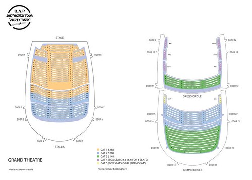Seating-Plan | by sgXCLUSIVE
