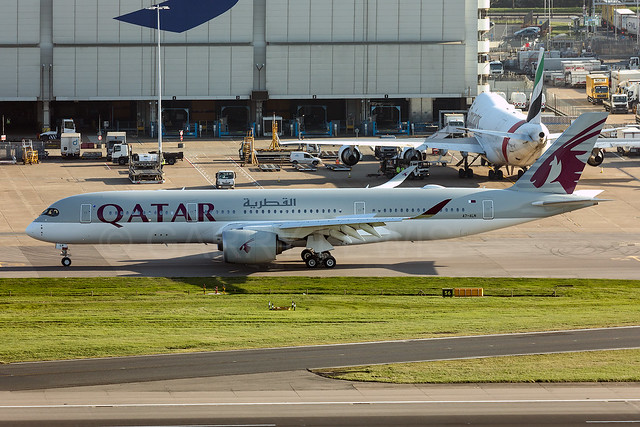 Qatar Airways Airbus A350-900XWB A7-ALN [LHR]