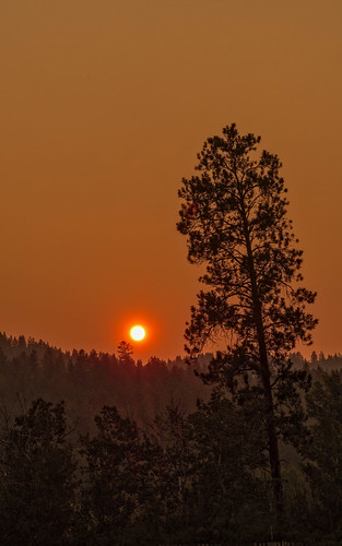 okanagan sunset smoke armstrong britishcolumbia canada ca