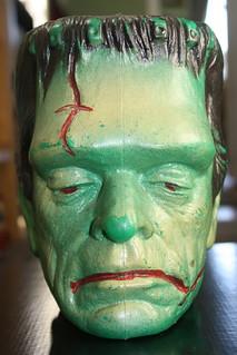 Frankenstein Speaker Head ( Actwell Plastics 1964 )