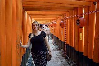 Torii-Weg am Fushimi Inari-Taisha Schrein | by chillyistkult