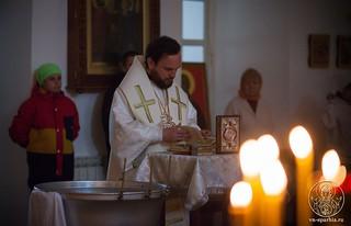 Литургия в Спасском соборе 100