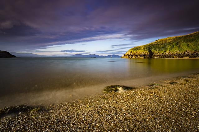 Llanddwyn beach morning
