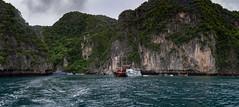 Bahía de Loh Samah, Isla Phi Phi Leh, Tailandia