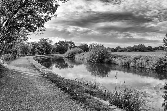 Sankey Brook Navigation B&W
