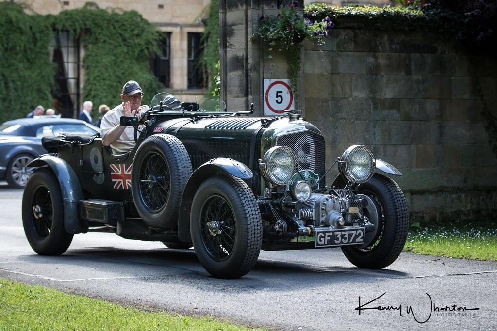 GF 3372 supercharged Bentley 4 1/2 litre | Kenny Wharton | Flickr
