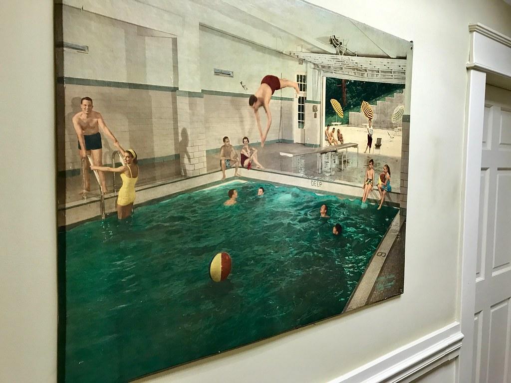 Natural Bridge Hotel Indoor Swimming Pool | Photo mural ...