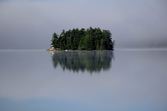 Island on Wollaston Lake, Ontario