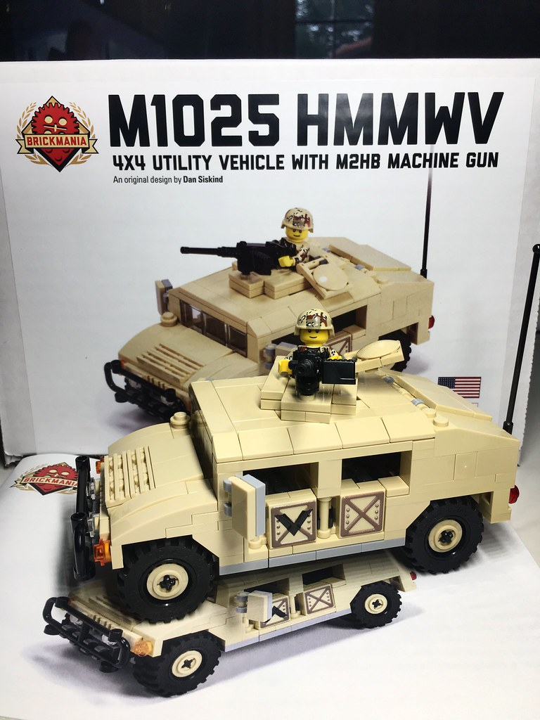 M1025 HMMWV by Brickmania  Great kit  | BrickAddict88 | Flickr