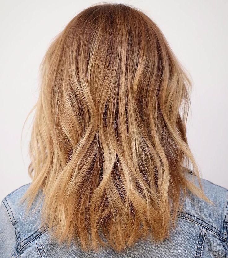 Trendy Hair Highlights Auburn Hair With Strawberry Blond