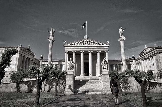 Lady M in Greece