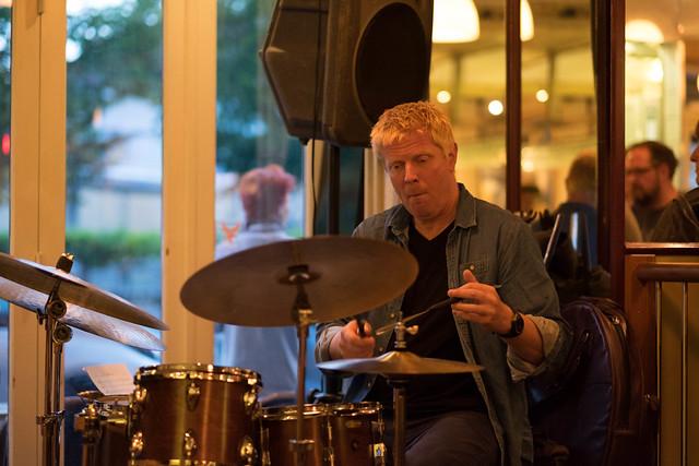 Martin Andersen - Copenhagen Jazzfestival 2017 - Jesper Bodilsens Trio with Marco Mezquida at Cafe