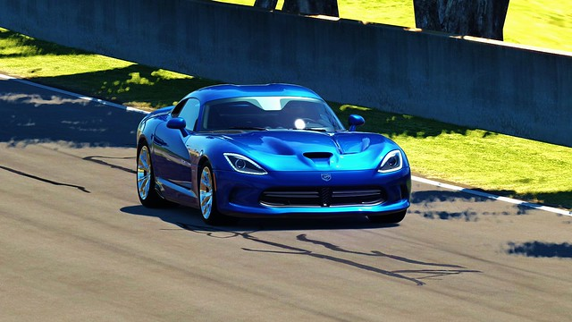 Fascinating Viper GTS Blue