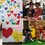 Valentine's Day Party with Religious Education Families, 2.11.17