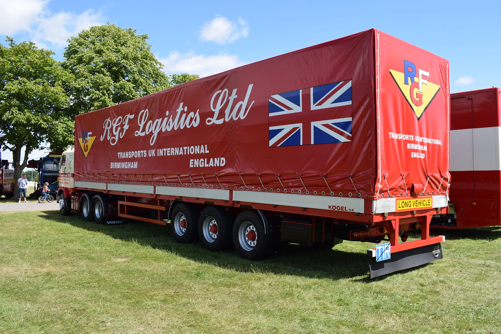 R G F  Logistics Ltd Volvo F88 RGF II | Another shot of the … | Flickr
