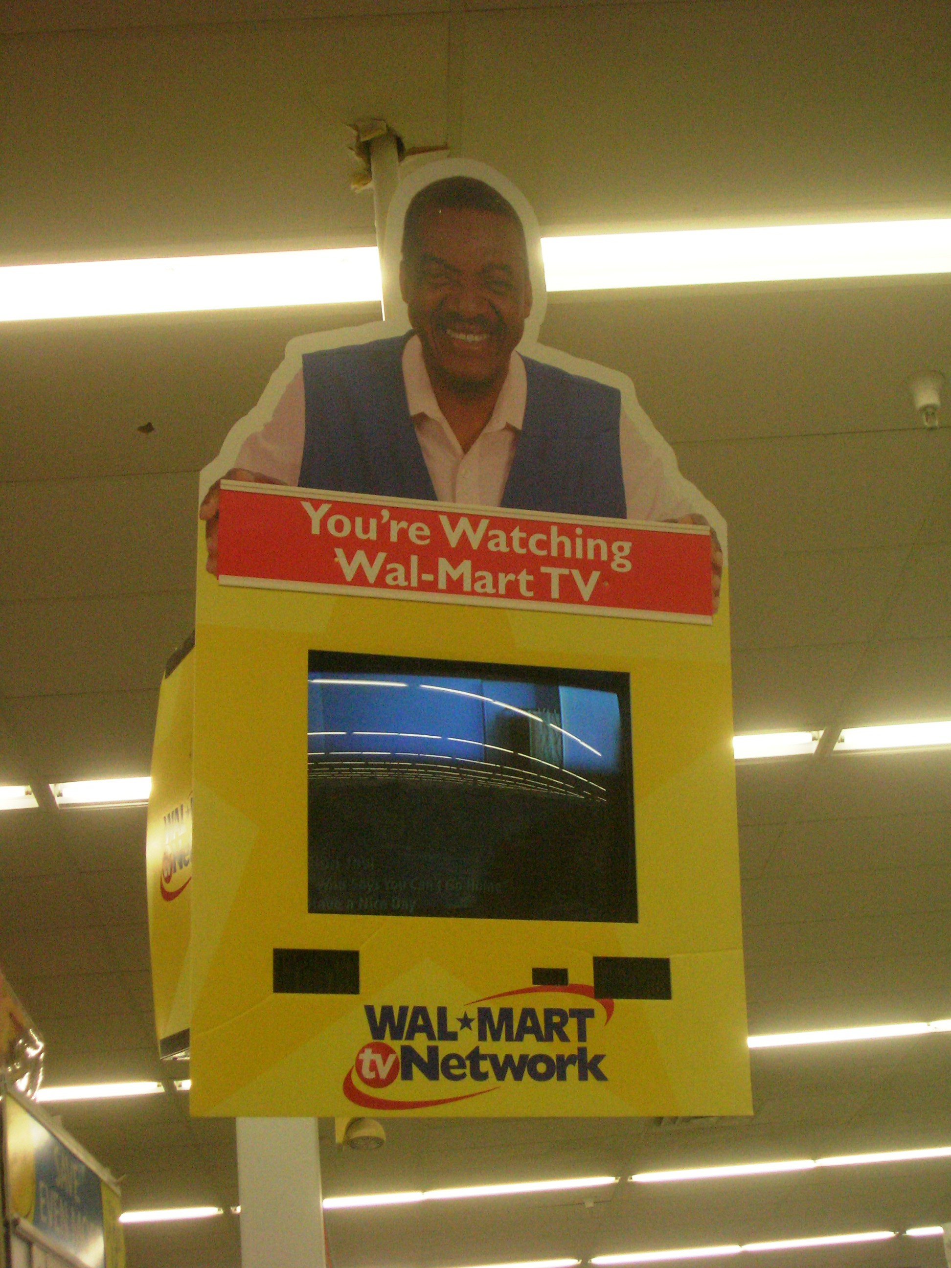 You're Watching Wal-Mart TV