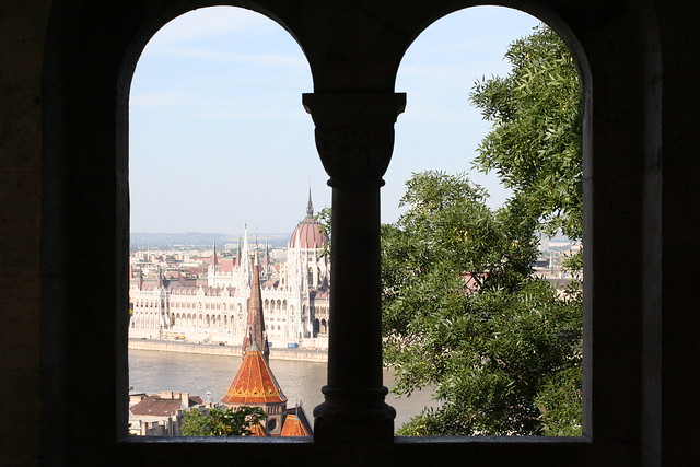 Budapest from the Fisherman's Bastion