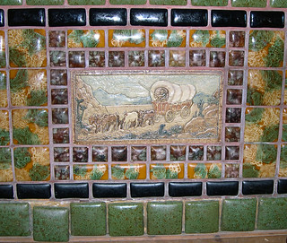 Arts and Crafts Era Tile Work | by Roadsidepictures
