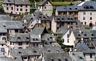Conques, Aveyron, France, 1993