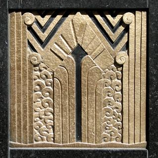 Deko Ornament.Art Deco Ornament Art Deco Ornamentation In The Door Revea