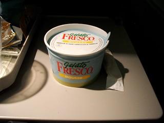 Gelato @ Air Canada On-board Meal