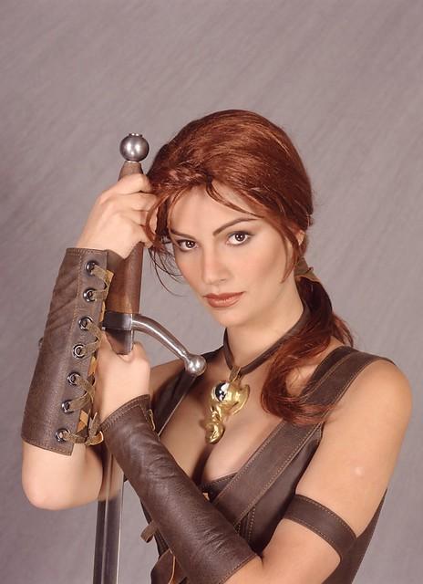 Medieval Warrior Girl