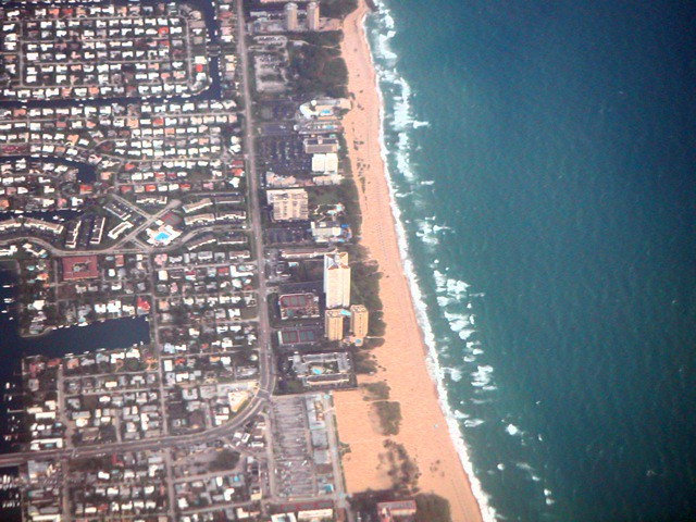 Flying over my Oceanfront Condo at The Tiara, Singer Island, Florida From 3000' - IMRAN™ 3900+ Views!