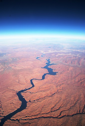 A river, looking North, between SFO and DFW | by nitot