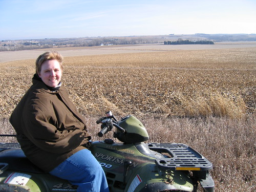 marna atv four wheel motor bike land farm iowa